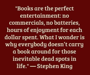 Stephen King, books, and perfect image