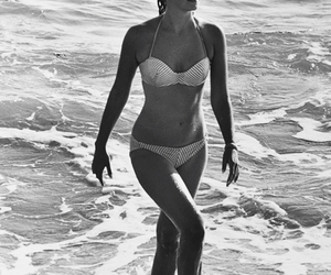 beach, bikini, and natalie wood image