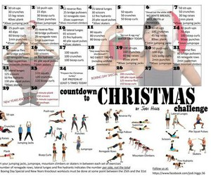 workout, body, and challenge image
