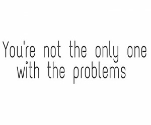 girl, life, and problems image
