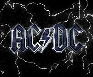 ac dc, ACDC, and Logo image
