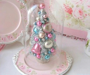 christmas and pastel image