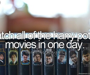 harry potter, girl, and movies image