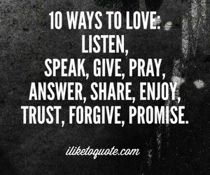 love, forgive, and pray image