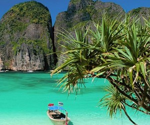 beach, thailand, and summer image