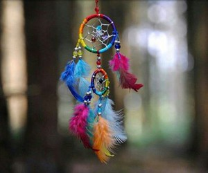 colorful, dream catcher, and Powerful image