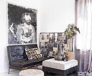 art, interior, and interior design image