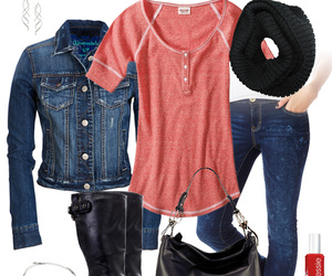 jeans, outfit, and boots image
