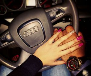 audi, couple, and love image