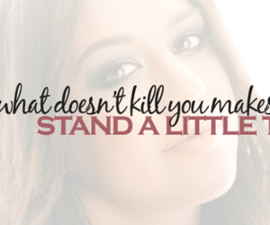 kelly clarkson, Stronger, and what doesn't kill you image