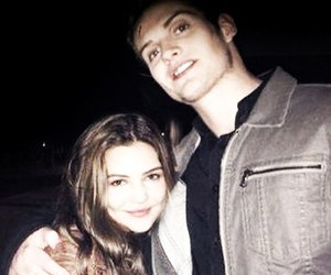 danielle campbell and daniel sharman image