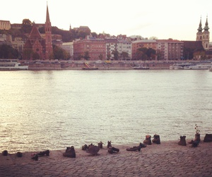 beautiful, river, and budapest image