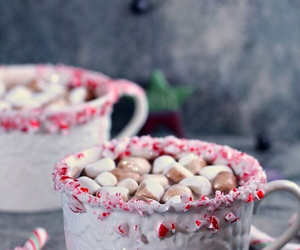 candycane, cocoa, and christmas image