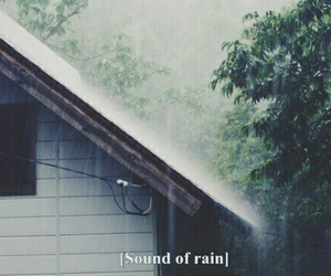 Dream, lovely, and rain image