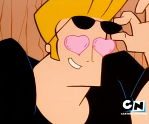 cartoon, cartoon network, and Johnny bravo image