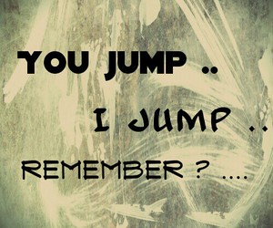 jump, quote, and quotes image