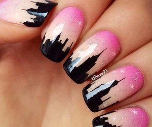 fashion, manicure, and art nail image