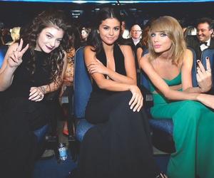 Taylor Swift, selena gomez, and lorde image