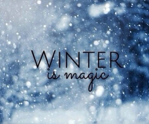 magical and snow image