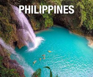 Philippines, beautiful, and water image