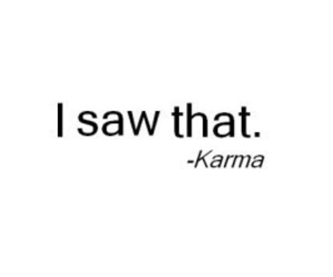 karma, quotes, and saw image