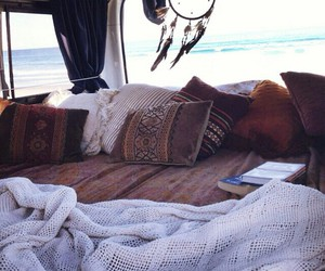 blankets, trip, and dreams image