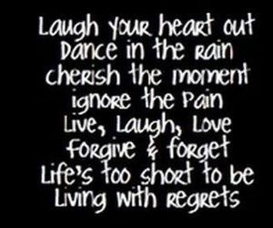 laugh, love, and quote image