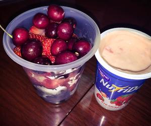 berries, cardio, and cherries image