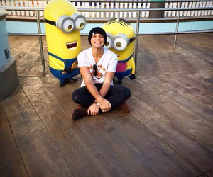 5sos, ashton irwin, and minions image