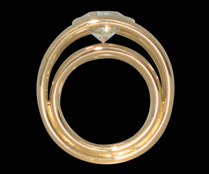 gold, praha, and ring image