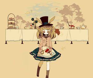 alice in wonderland and art image