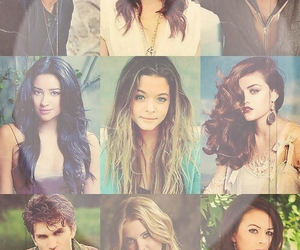 pll, pretty little liars, and aria image