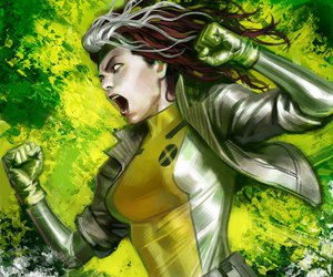 Marvel, comic, and Rogue image