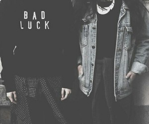 grunge and bad luck image