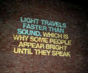 quote, light, and people image