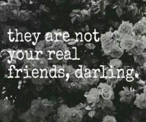 friends, darling, and fake image