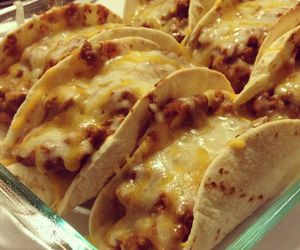 food, tacos, and cheese image