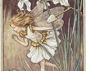 fairy, narcissus, and art image
