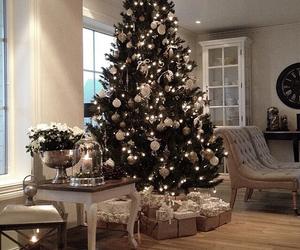 christmas, home, and snow image