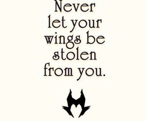 quote and maleficent image