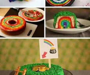cake, diy, and rainbow image