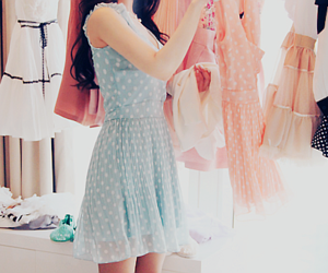 asian, dresses, and girl image