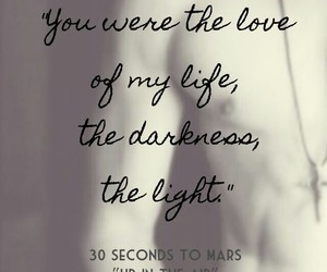 up in the air, love, and 30 seconds to mars image