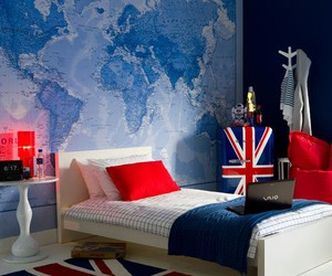 room, bedroom, and england image