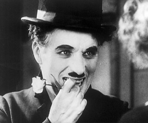 chaplin, charlie chaplin, and black and white image