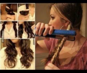curl, diy, and curly image