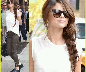 hairstyle and selena gomez image