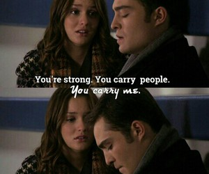 blair waldorf, chuck bass, and blair and chuck image