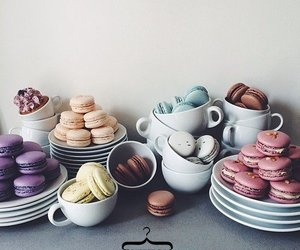 colors, desserts, and food image