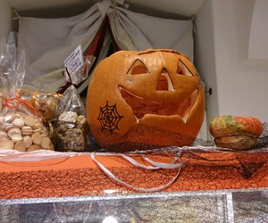 Halloween and kürbis image